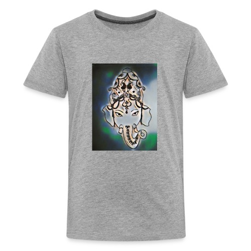 India henna dark - Kids' Premium T-Shirt