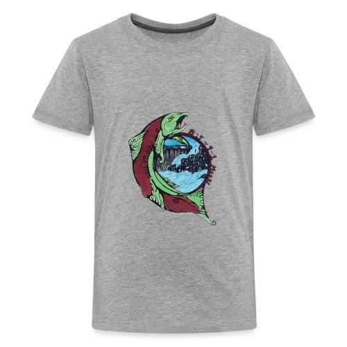 Salmon Moon - Kids' Premium T-Shirt