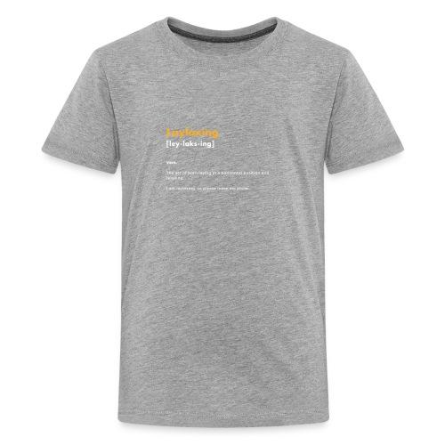 laylaxing gold - Kids' Premium T-Shirt