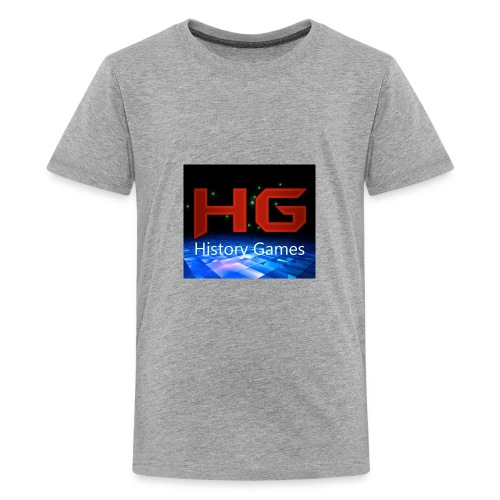 Nuevo logo History Games - Kids' Premium T-Shirt