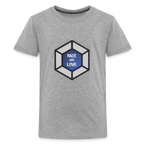 Pace and love - Kids' Premium T-Shirt