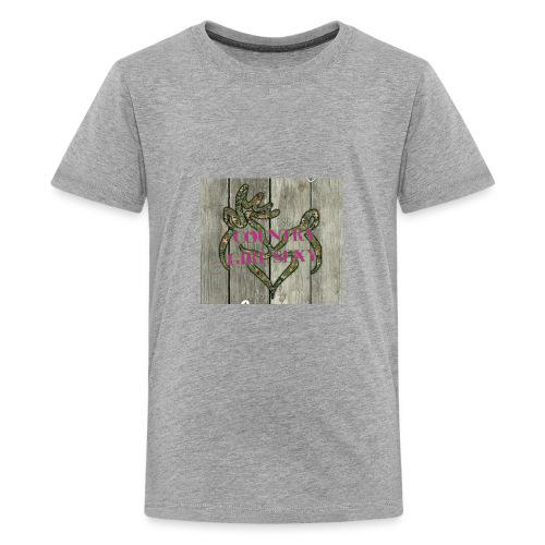 COUNTRYGIRLSEXY - Kids' Premium T-Shirt