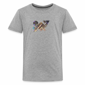 drum shapes - Kids' Premium T-Shirt