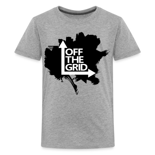 OFF THE GRID Grunge - Kids' Premium T-Shirt