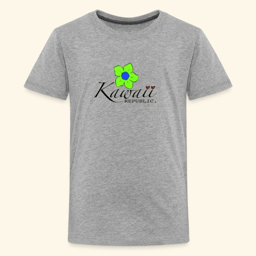 Welcome Spring with Kawaii Republic - Kids' Premium T-Shirt