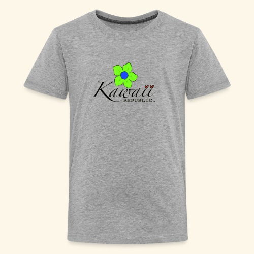Welcome Spring with Kawaii Republic - Kids' Premium T-Shirt