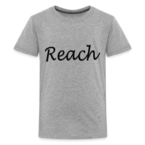 Classic Reach logo black - Kids' Premium T-Shirt