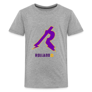 No Boarder Purple R - Kids' Premium T-Shirt