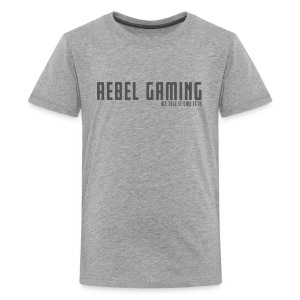 Rebel Gaming We Tell It Like It Is - Kids' Premium T-Shirt