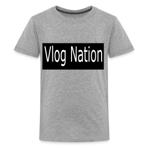 Vlog Nation - Kids' Premium T-Shirt
