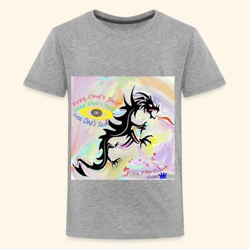 Logo Of Life Designs - Kids' Premium T-Shirt