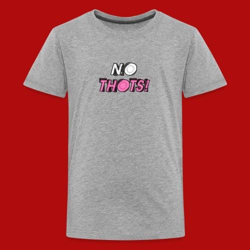 No Thots Logo - Kids' Premium T-Shirt