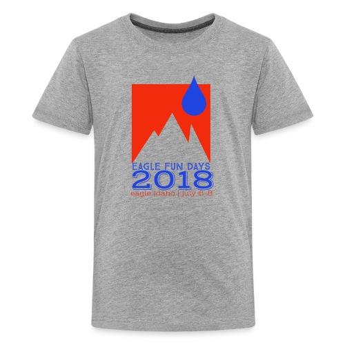 Eagle Fun Days 2018 Mountain - Kids' Premium T-Shirt