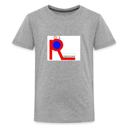 ROLL_OBSIDIAN - Kids' Premium T-Shirt