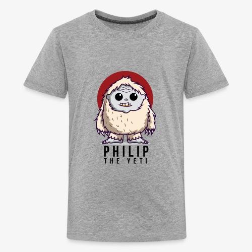 Philip the Yeti - Kids' Premium T-Shirt
