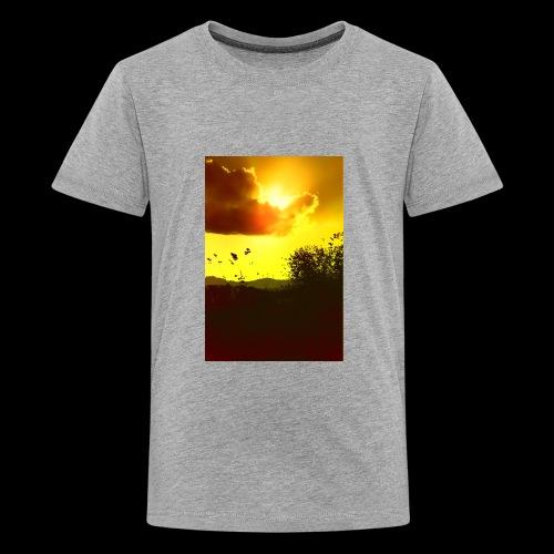 Sun Soaked Sky - Kids' Premium T-Shirt