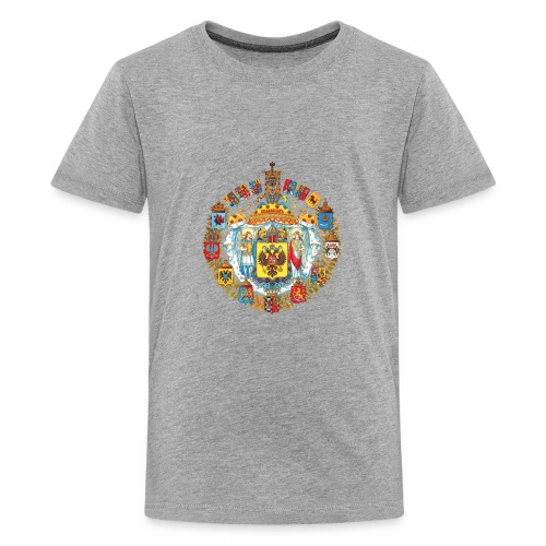 800px Greater coat of arms of the Russian empire - Kids' Premium T-Shirt