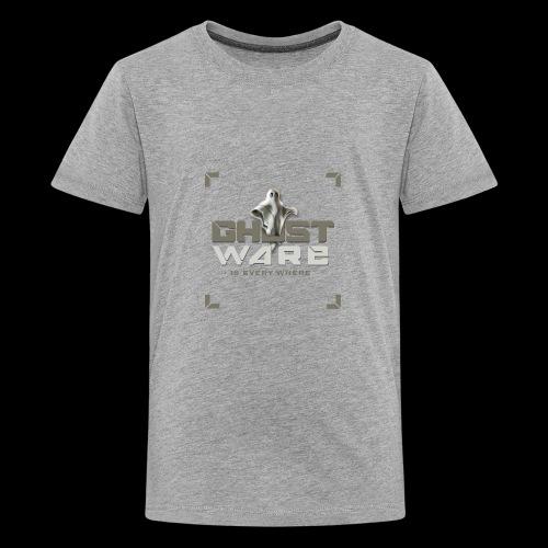 Ghostware Square Logo - Kids' Premium T-Shirt