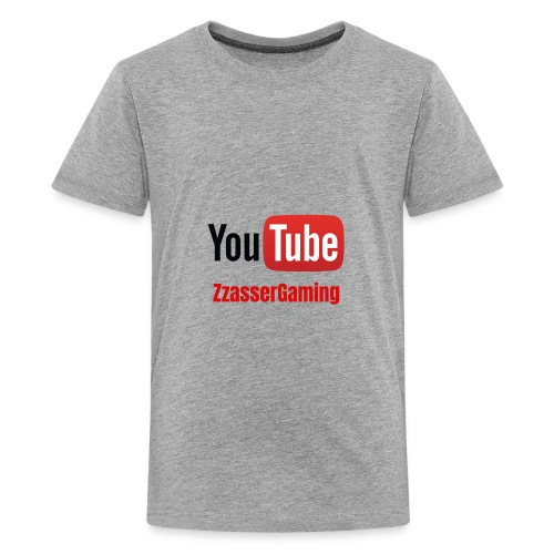 YouTube ZzasserGaming - Kids' Premium T-Shirt
