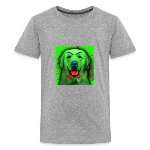 Zombie Dog Hoodie - Kids' Premium T-Shirt