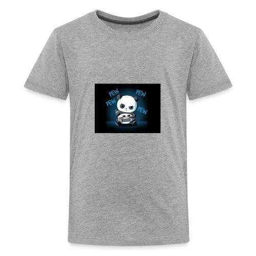 Pandafuzzy hoodie - Kids' Premium T-Shirt