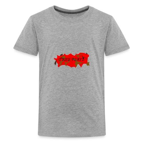 TreePLAYZ (RED EDTION) {NEW} - Kids' Premium T-Shirt