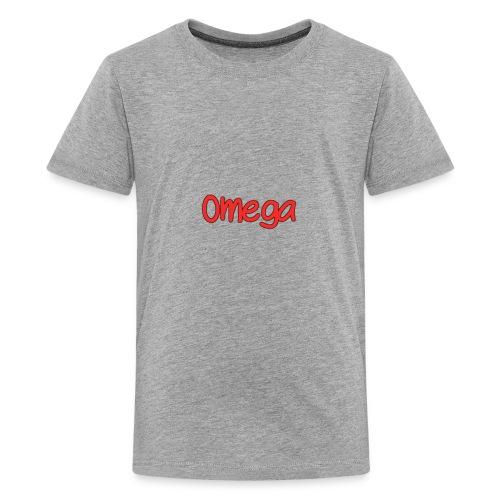 Omega Plain Logo - Kids' Premium T-Shirt