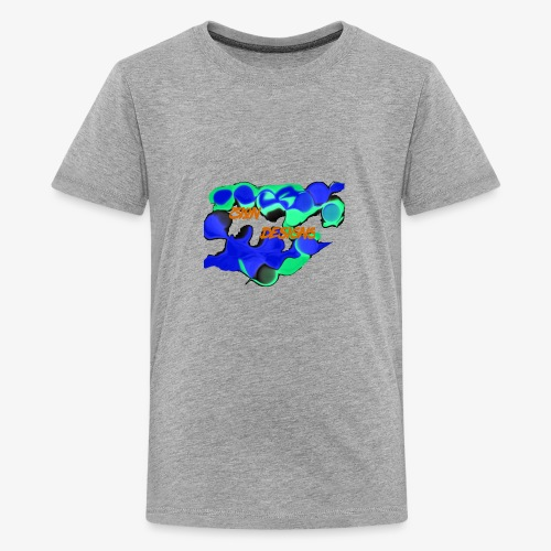 zion designs part1 - Kids' Premium T-Shirt