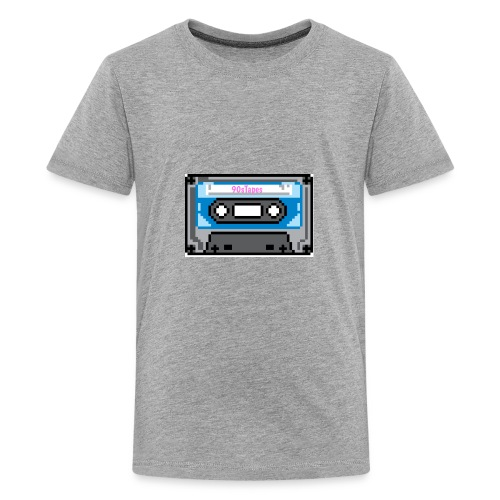 90s Tapes Brand Logo - Kids' Premium T-Shirt