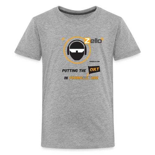 TSP Zello Permaculture Pun - Kids' Premium T-Shirt