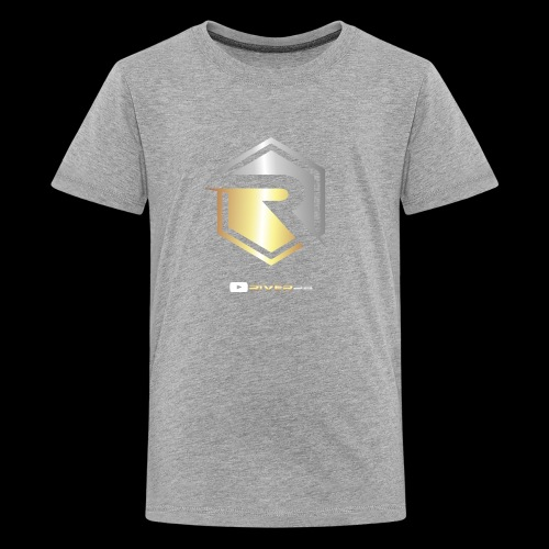 Gold/Silver Logo YouTube - Kids' Premium T-Shirt