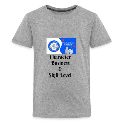 Character, Business & Skill Level - Kids' Premium T-Shirt