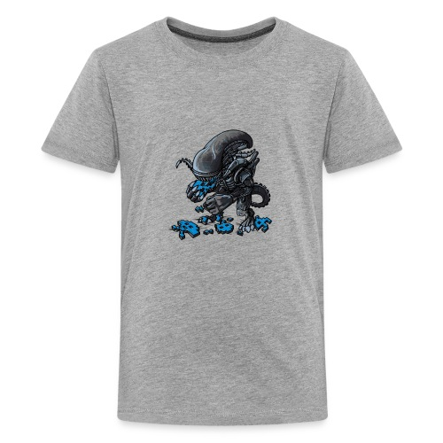 Alien Eats Alien - Kids' Premium T-Shirt