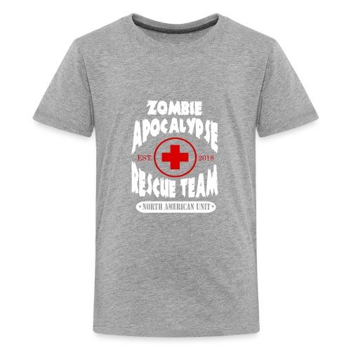 Zombie Apocalypse Rescue Team - Kids' Premium T-Shirt