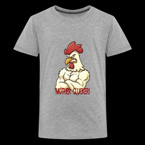 Clucker Poster - Kids' Premium T-Shirt