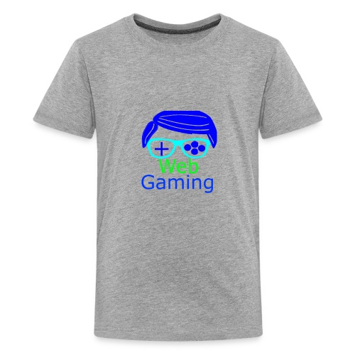 New Web Gaming Channel Logo - Kids' Premium T-Shirt