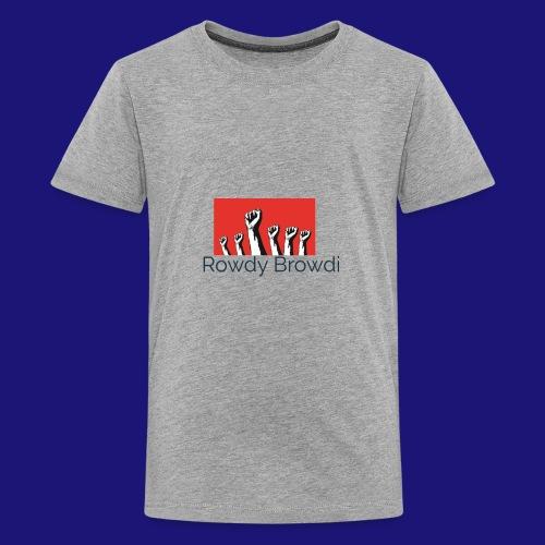 Rowdy Peace Browdi - Kids' Premium T-Shirt
