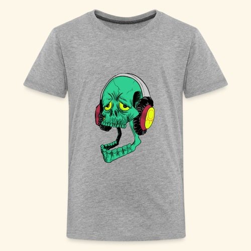 Mr. Green skull - Kids' Premium T-Shirt
