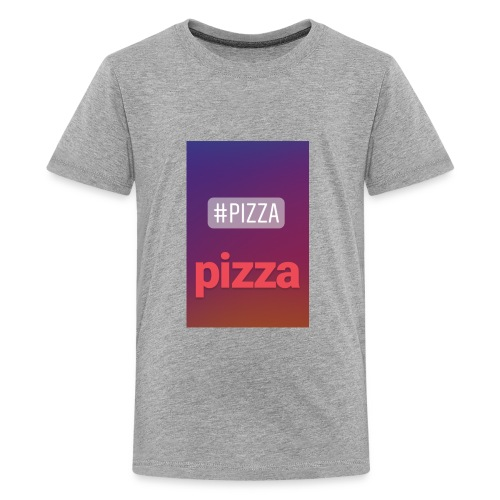 the pizza master tags - Kids' Premium T-Shirt