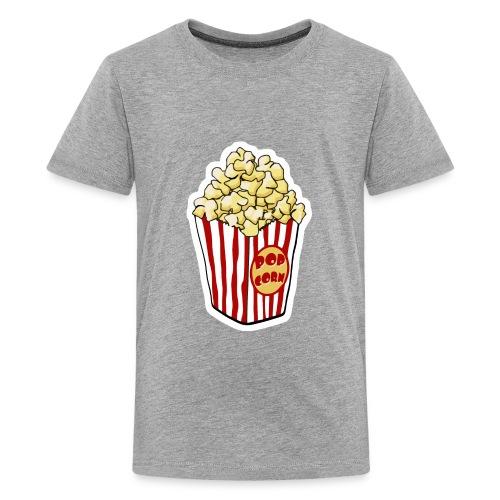 Popcorn Cartoon Pop Corn - Kids' Premium T-Shirt
