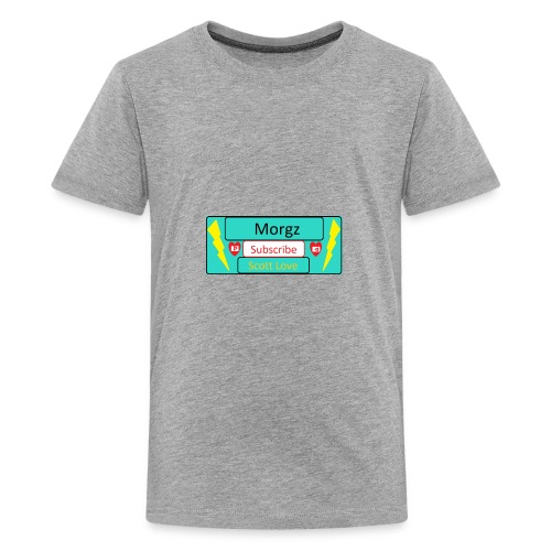 Morgz/Itz Alex Subscribe Logo - Kids' Premium T-Shirt