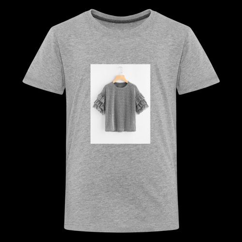 Plain dress shirt - Kids' Premium T-Shirt
