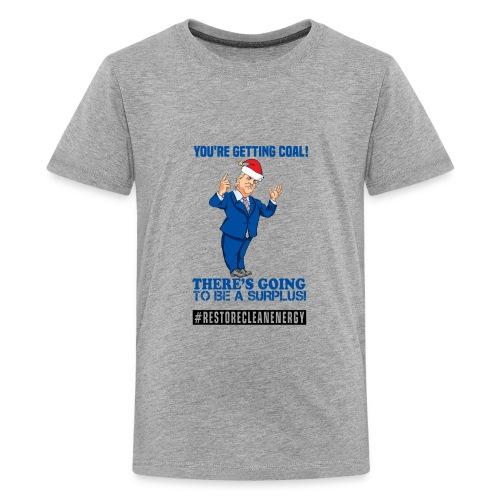Trump Santa Shirt - Kids' Premium T-Shirt