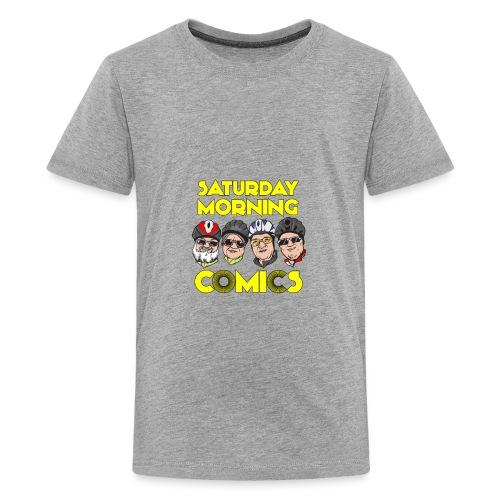 Saturday Morning Comics - Kids' Premium T-Shirt