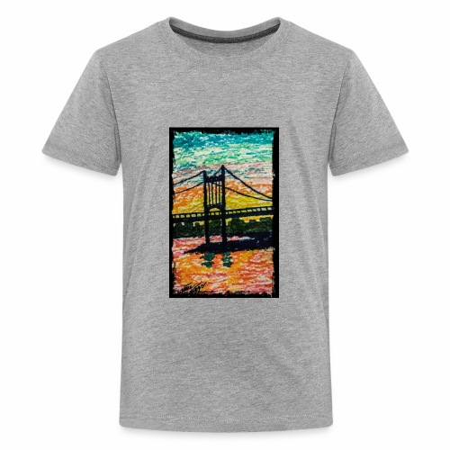 New York Bridge - Kids' Premium T-Shirt