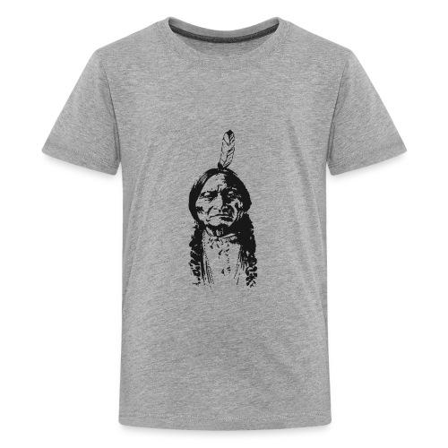 Vintage Indian Native American Funny - Kids' Premium T-Shirt