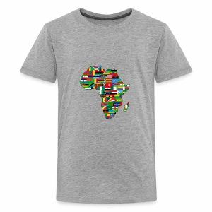 AfricaMap - Kids' Premium T-Shirt