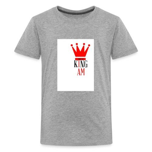 king Iam - Kids' Premium T-Shirt