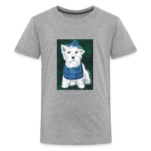Laddie my Westie a Westie Highland White Terrier - Kids' Premium T-Shirt