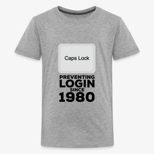 Caps Lock - Kids' Premium T-Shirt